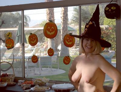 Naked Halloween