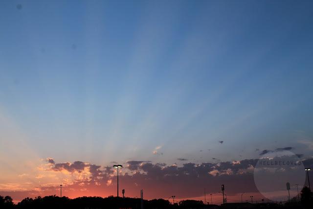 Missouri sunset