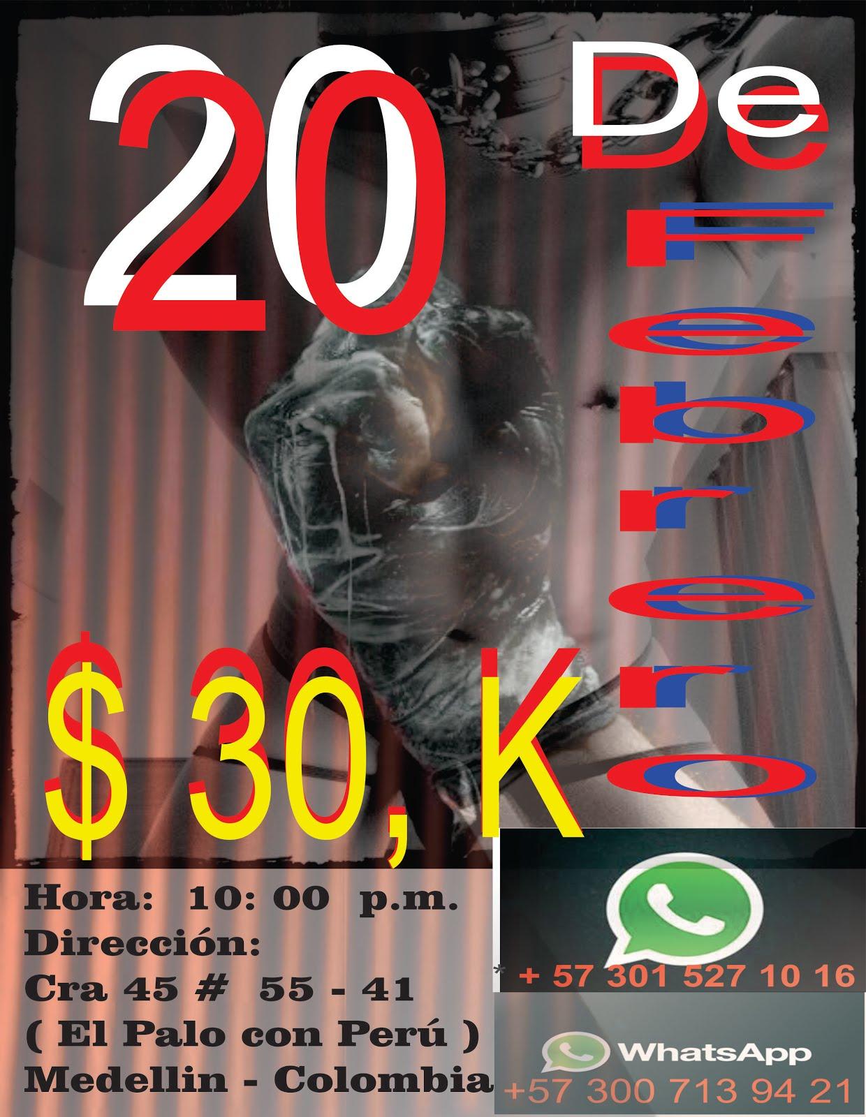 EVENTO EN MEDELLIN. 20 DE FEBRERO