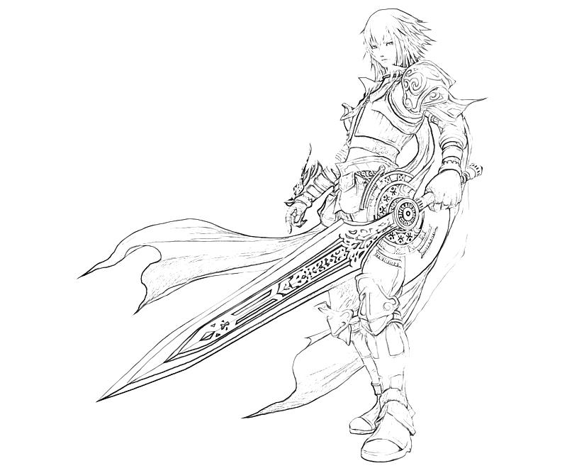 printable-pandora's-tower-aeron-character_coloring-pages
