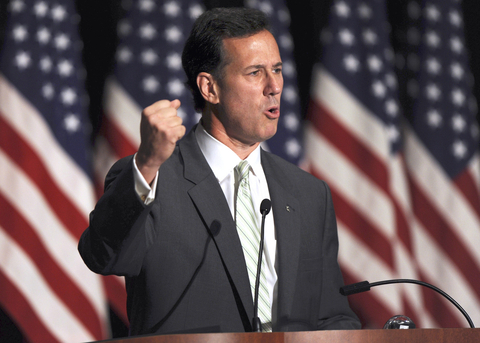 ... Santorum claimed never to have compared gay sex to incest ahead of the ...