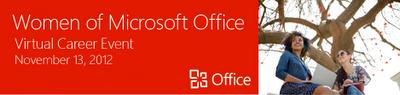 Women of Microsoft Office Virtual Career Event