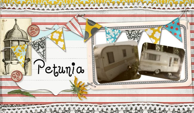 The Vintage travel trailer