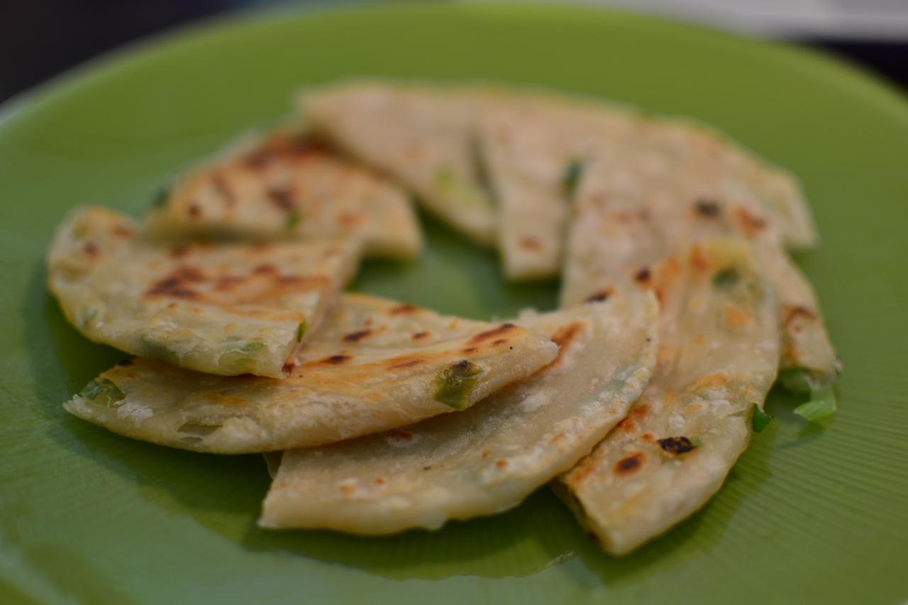 Truffles and Threads: Cong You Bing (Chinese Green Onion Pancakes)