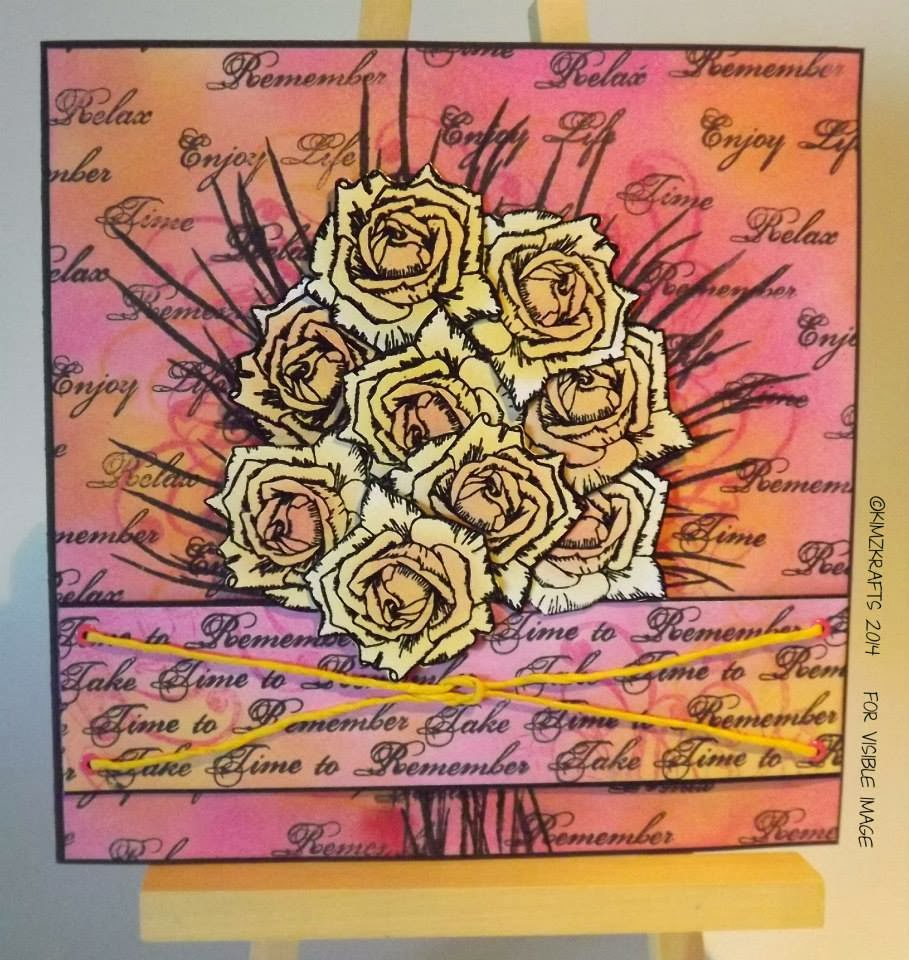 visible image stamps roses