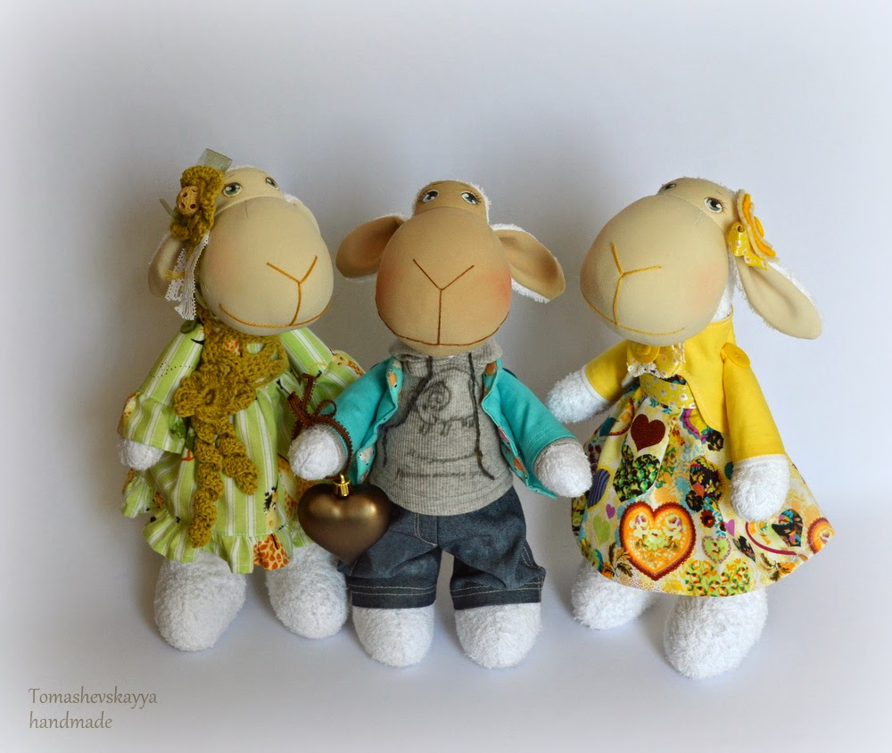 Картинка милые овечки