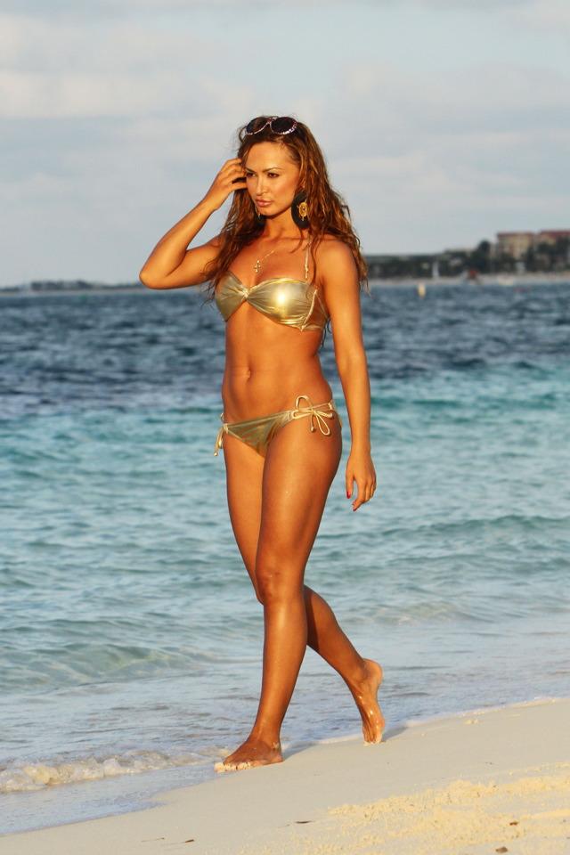 Karina Smirnoff - Bikini Candid 2012