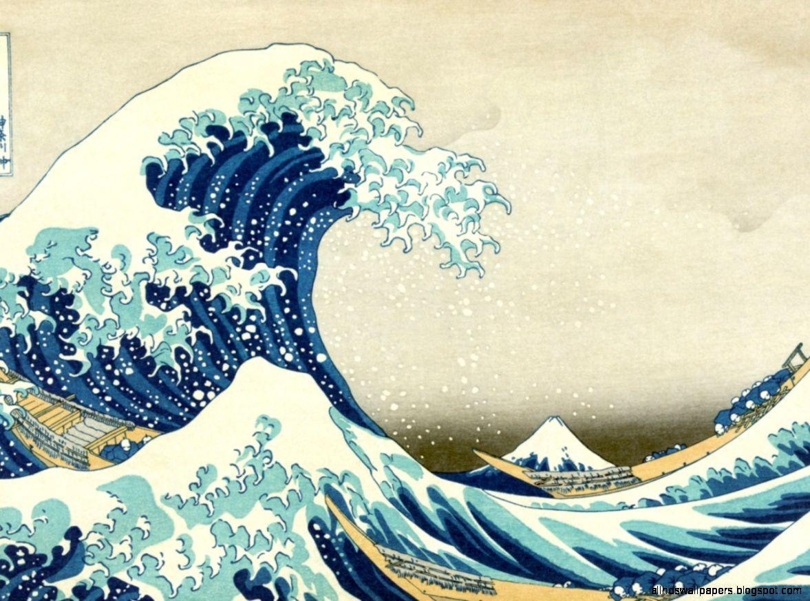 Wave Japan Wallpaper Desktop