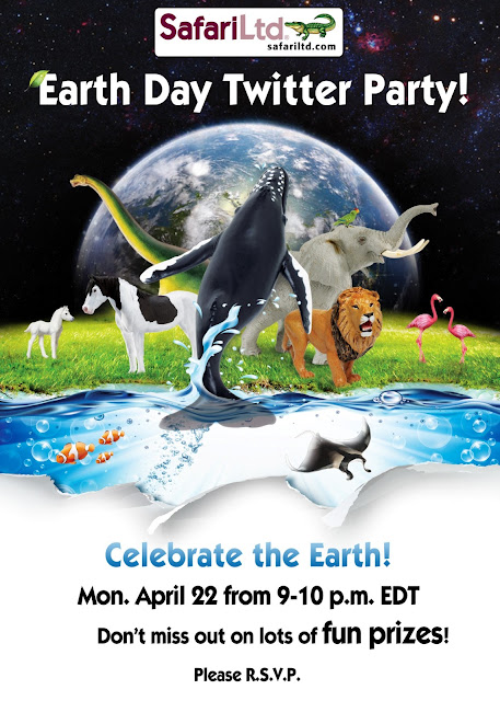 celebrate earth day with safari ltd.
