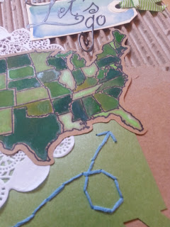 "fresh crafts blog: mixed media ""let's go!"""