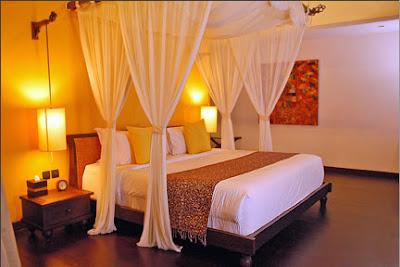 Cómo decorar un dormitorio para una noche romántica