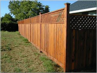 Деревянный забор. Фото 3