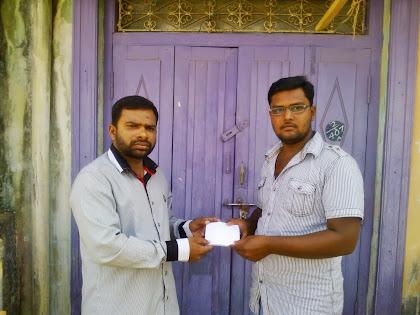 மாவட்ட மர்க்கஸ்க்கு ரூபாய் 5000 வண்ணாண்குண்டு கிளை