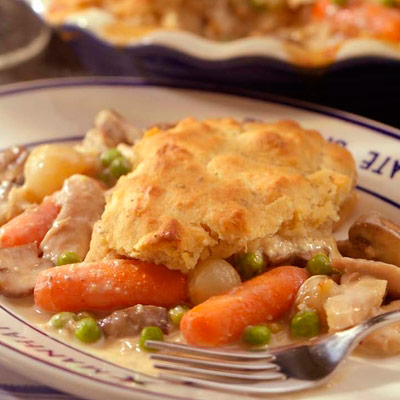 My Favorite Things: Creamy Chicken Pot Pie