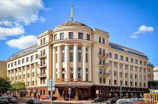 CrownPlaza hotel in Minsk - main view