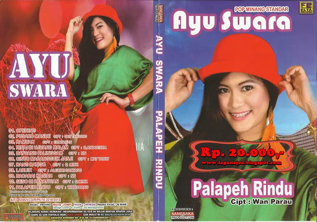 Ayu Swara - Palapeh Rindu (Albm Pop Minang Standar)