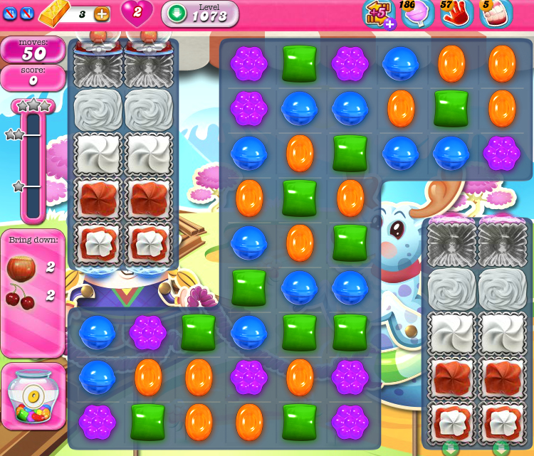 Candy Crush Saga 1073