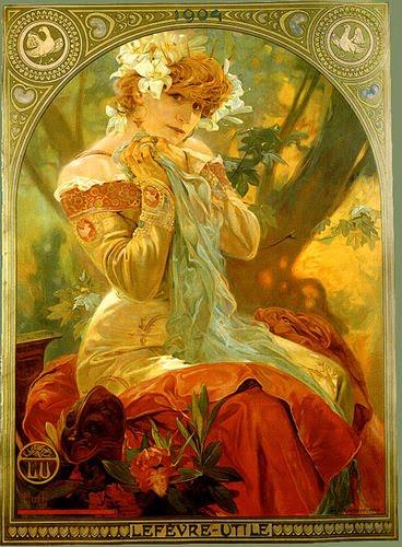 Pintores y su obra: Alphonse Mucha 13%255B1%255D