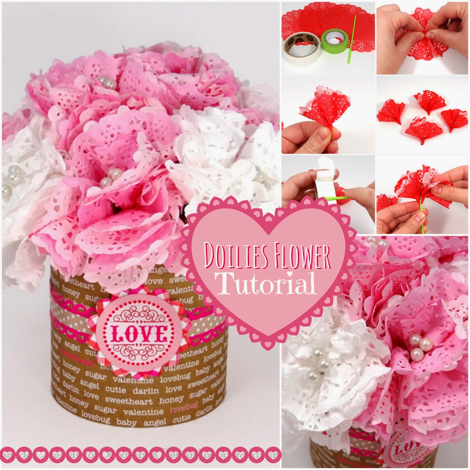 Doodlebug Design Inc Blog Tuesday Tutorial Diy Paper Doily Flower