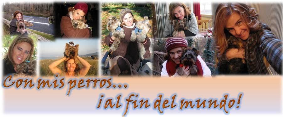 Con mis perros... al fin del mundo.