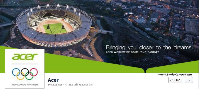 Acer on Facebook