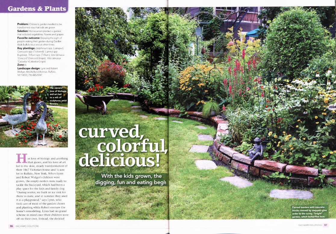 that 39 s five buffalo gardens in national magazine backyard solutions