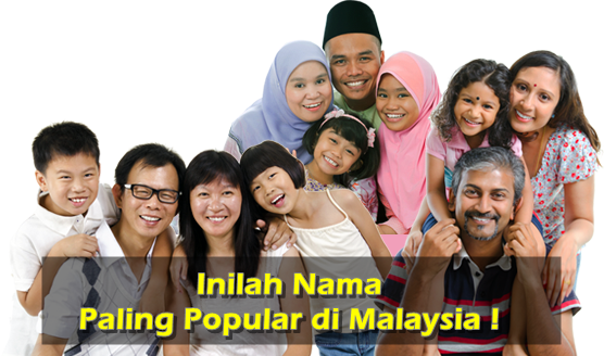 Inilah Nama Paling Popular di Malaysia