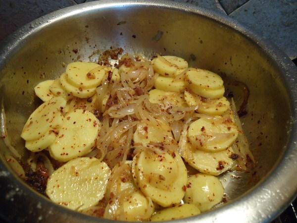 Cocina y borda con maria merluza con patatas y guisantes - Tiempo para cocer patatas ...
