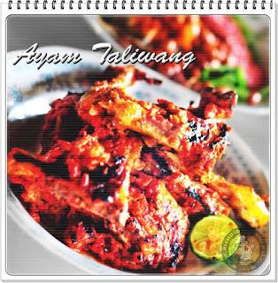 Resep Cara Membuat Ayam Taliwang Pedas Khas Lombok
