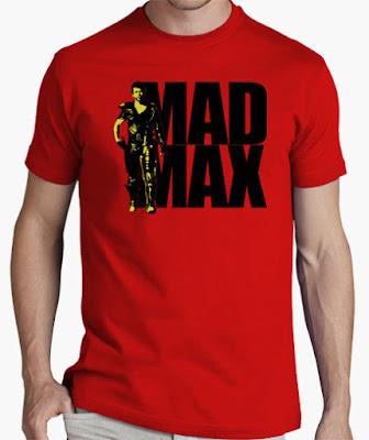 camisetas para cinéfilos originales mad max