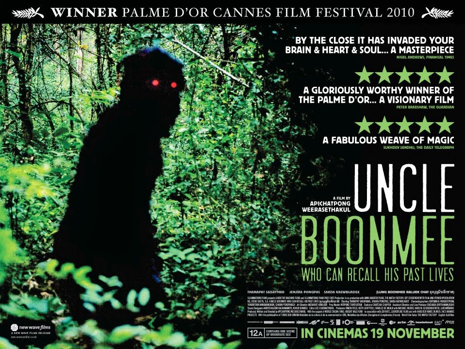 Uncle Boonmee Who Can Recall His Past Lives film 2010 poster