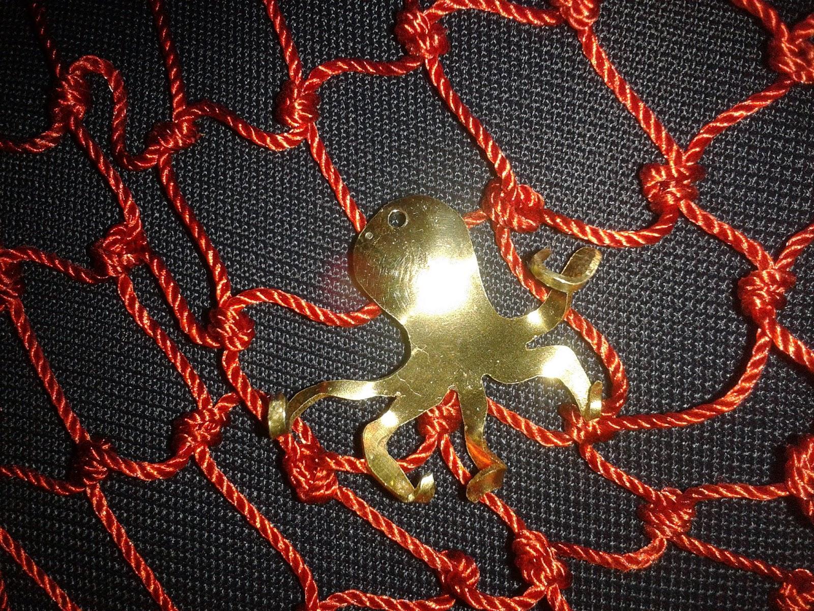 Mf artcreator balad el fil collana rete da pesca for Rete da pesca arredamento