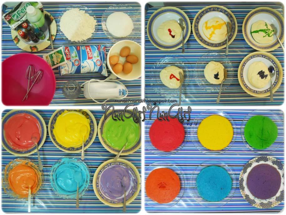 Rainbow Cake Azlita