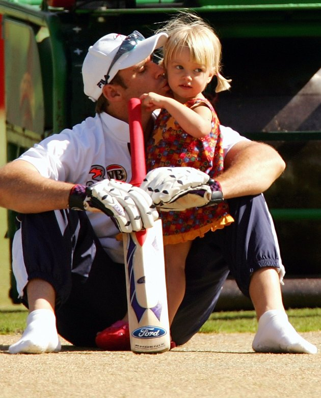 Matthew Hayden's daughter Grace