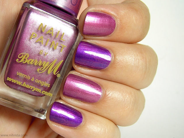 Barry M Chameleon Colour Changing Nail Effects in Pink