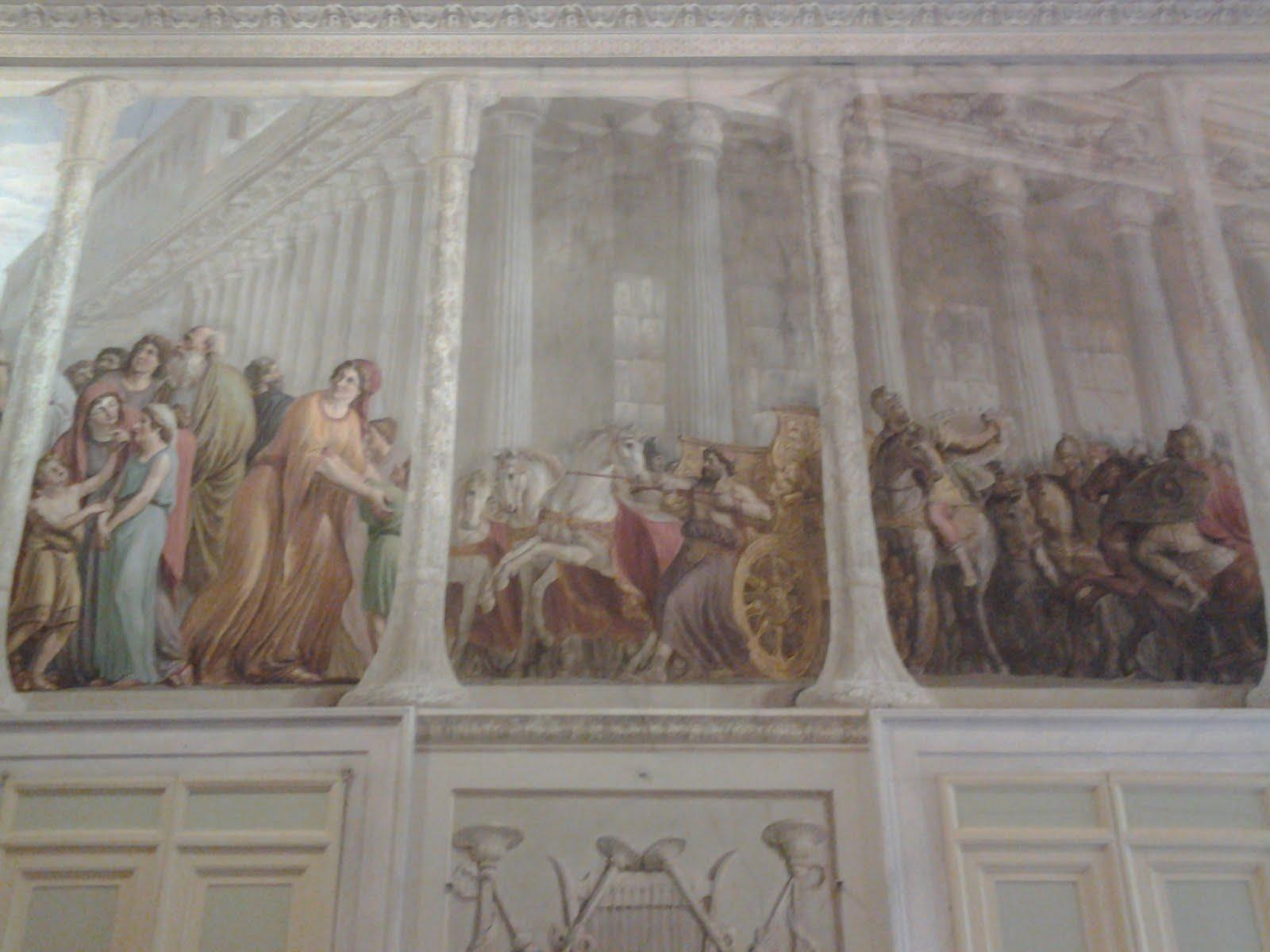 Decorazione a Palazzo Pitti ( FI) del pittore Luigi Ademollo