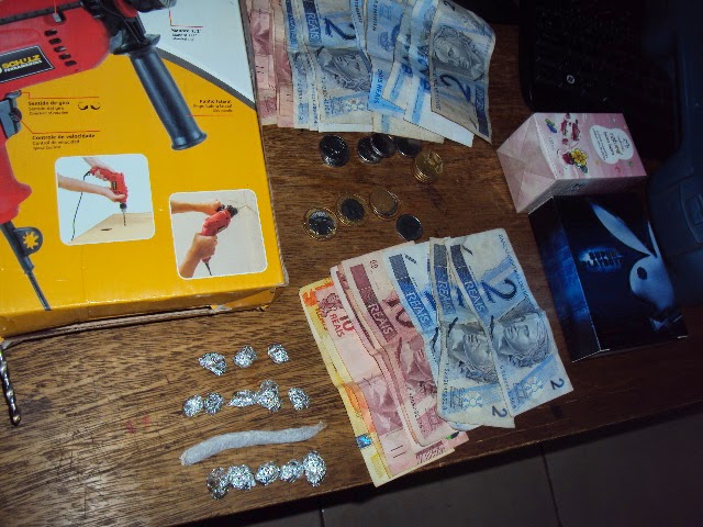 rolandia, rua marfim, dinheiro trocado menor apreendido pela ROTAM