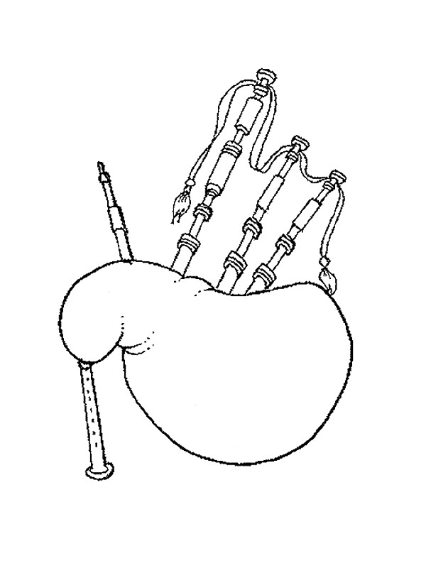 free coloring pages of orchestra percussion