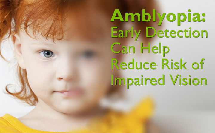 adults in Amblyopia symptoms