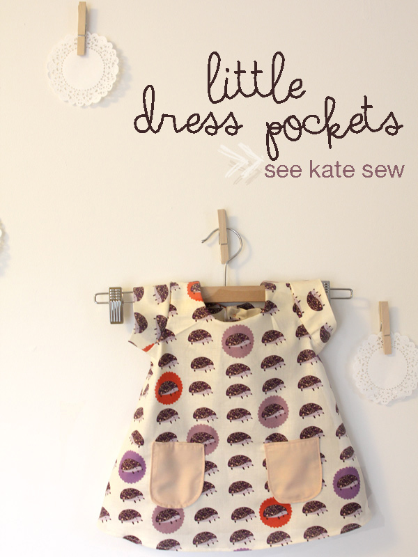 little dress pockets pattern - see kate sew