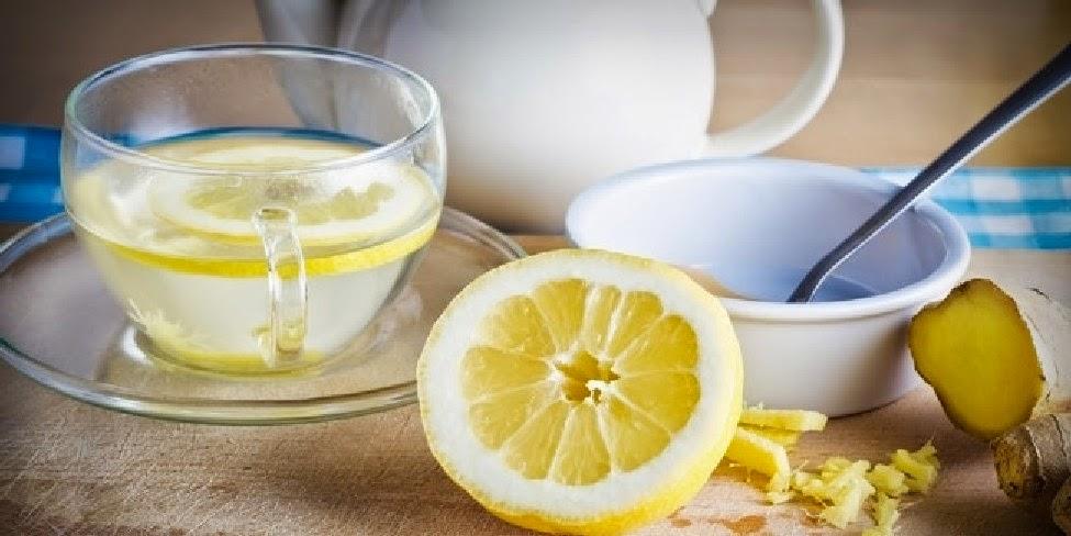 Jeruk lemon hangat