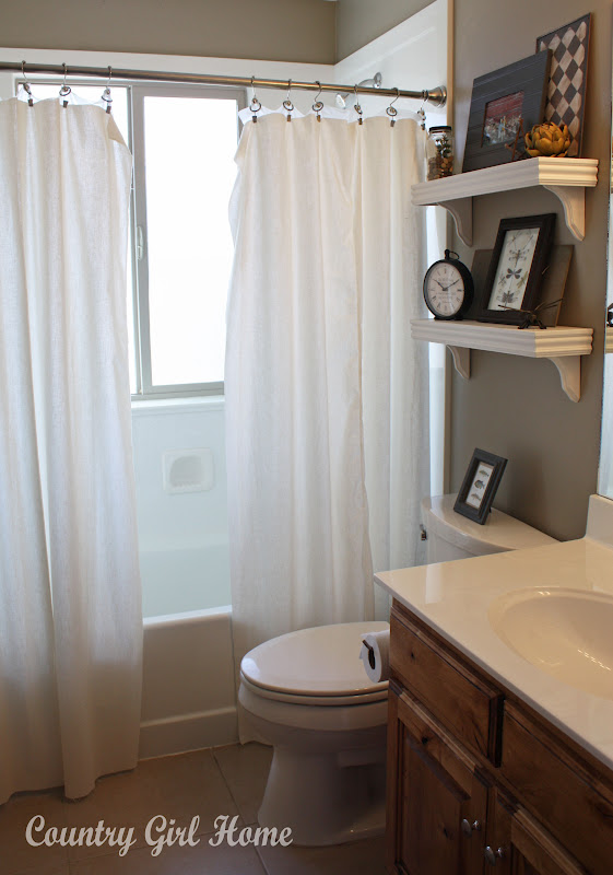 country girl home a little boys bathroom redo. Black Bedroom Furniture Sets. Home Design Ideas