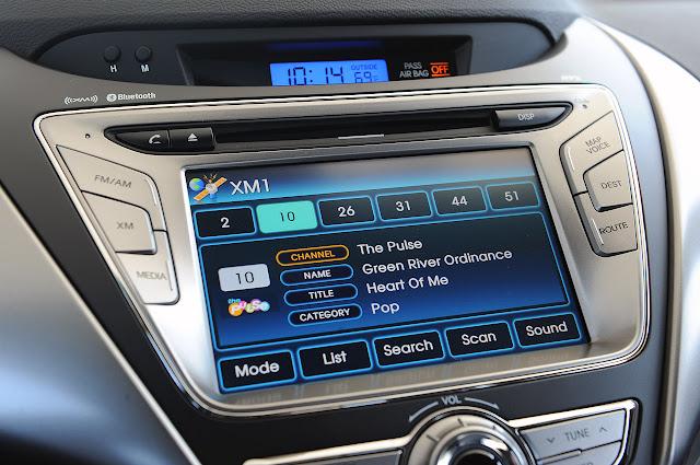 система управления Hyundai Elantra Coupe 2013