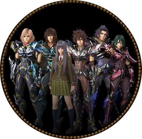 Personnages de Saint Seiya le film en 3D intitulé Legend Of Sanctuary