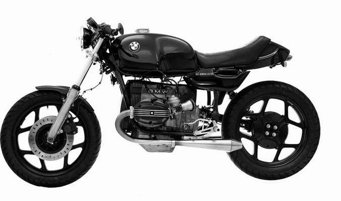 2015 Cafe Racer BMW Monolever - Barn Luck