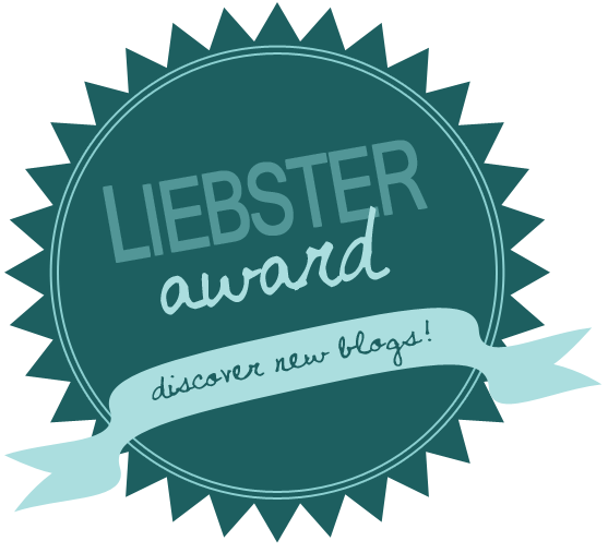 Liebster award button logo.
