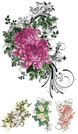 Thank You Clip Art Flowers