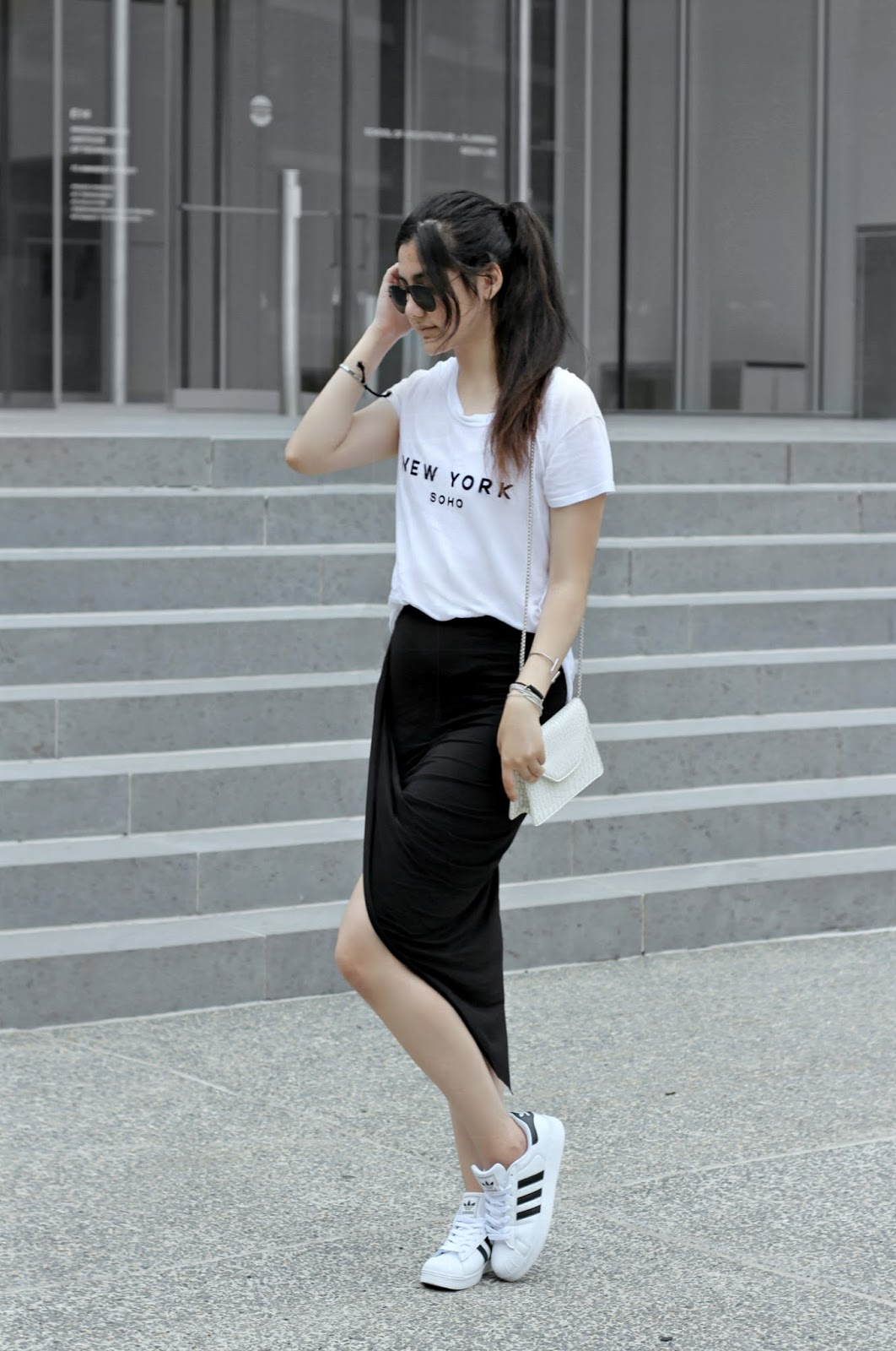 adidas superstar summer outfit