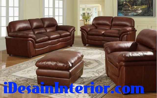 jual sofa kulit asli di tangerang