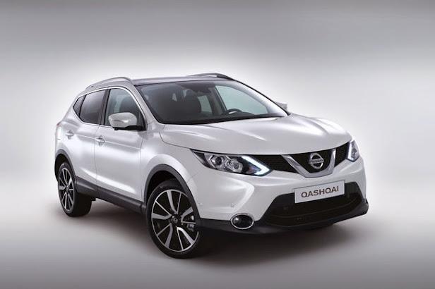 Nissan Qashqai SUV mas vendido en España en 2014